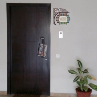 Colourfull Nameboard door room sticker