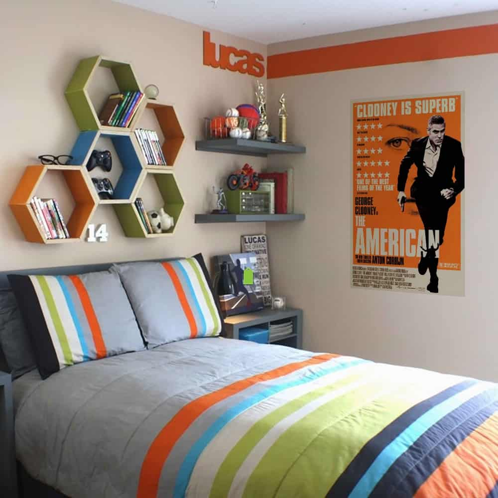 WDPRAMMM0001 Print your favourite Movie Wall Poster bed