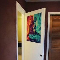 WDPRAMMM0001 Print your favourite Movie Wall Poster door