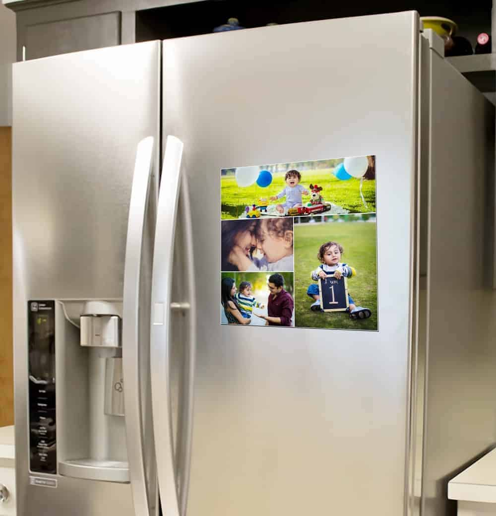 Print Your Photo Into Fridge Magnet room sticker