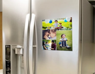 Print Your Photo Into Fridge Magnet