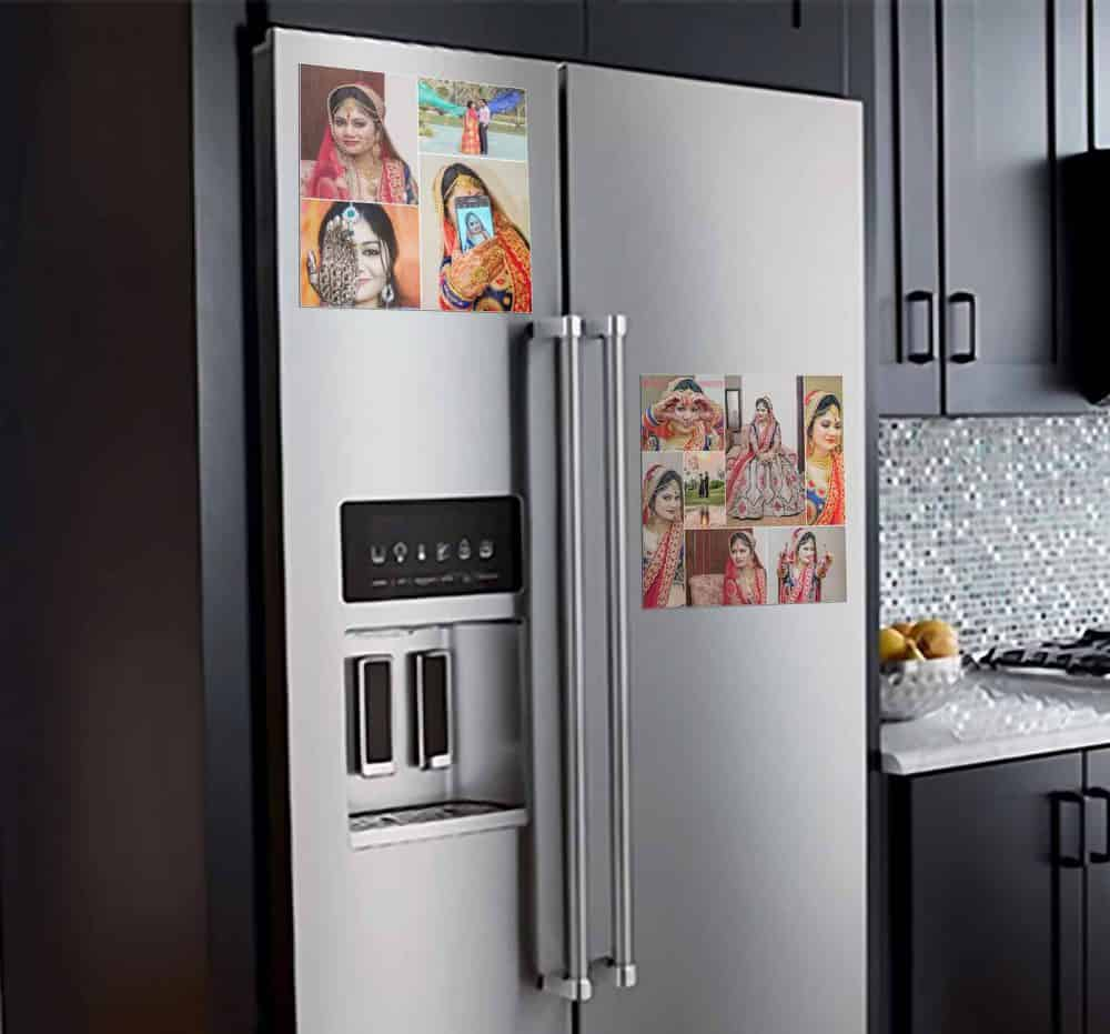 Print Your Photo Into Fridge Magnet 4 room decal