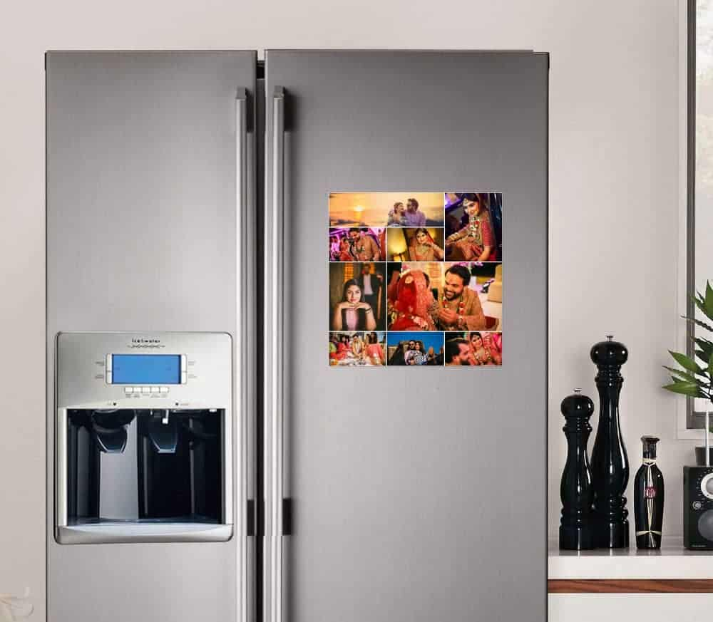 Print Your Photo Into Fridge Magnet 5 room decal
