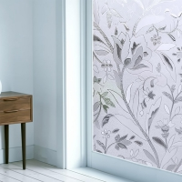 Lotus Pattern Living room sticker