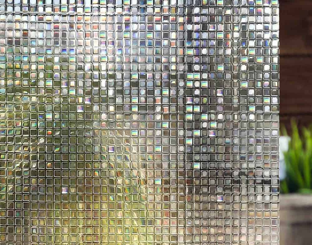 3D Mosaic Pattern Door room sticker