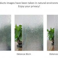 3D Mosaic Pattern Film Privacy room sticker