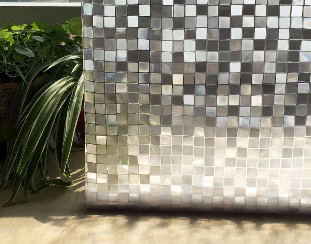 Square Glass Mosaic Roll room sticker