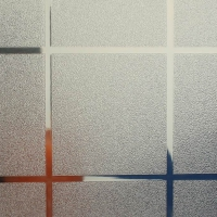 Squares Frost Pattern Glass Film room sticker