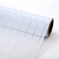 Squares Frost Pattern Roll room sticker