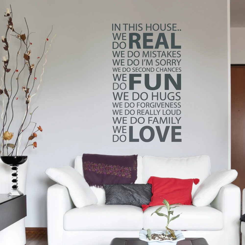 40 Ideas To Decorate Your Interiors With Quotes And Words On The Walls Of Your Home