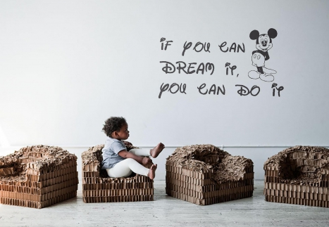Kids' World Redefined With Inspiring Quotes Decal