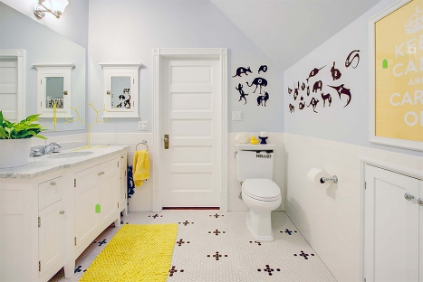 Special quotes for the loo: make it really fun with words!