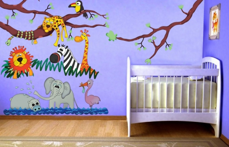 27 wall design ideas to transform your kid's room into a wild jungle hangout