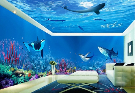 Expand the horizons of your personal space with an underwater touch!