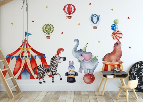 35+ Ingenious Wall Ceiling Designs For Your Kids Room