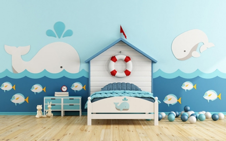Let the kids have a whale of a time inside the underwater world!