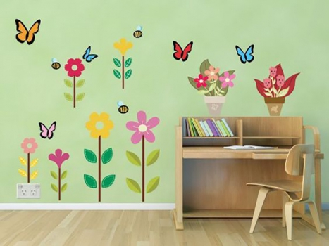 Chalk Out A Miniature World For Your Teen Girl With WallDesign Vinyl Stickers