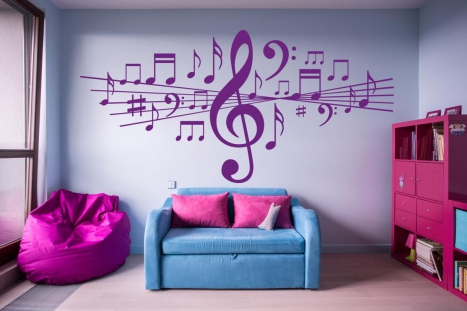 Top 35 Teen's Room Decor Ideas With WallDesign's Wall Murals and Printed Vinyl Decal