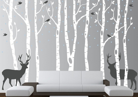 40 Ways To Discover Life Anew With WallDesign's Tree Wall Stickers & Printed Decal