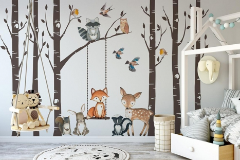 Top 40 Tree Wall Stickers To Enrich Your Toddler's Imagination With WallDesign