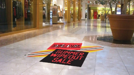 40 Ways To Advertise Using Vinyl Floor Graphics & Printed Wall Stickers