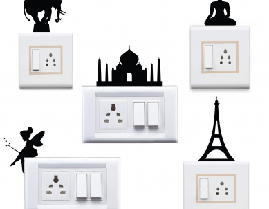 Combo Switch Board Decal Wall Sticker