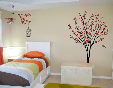 Almond Tree and Branch Wall Art