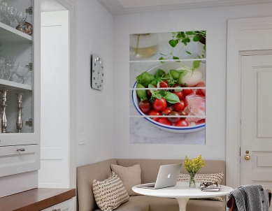 Tommoto Fruit & Leaves in a Tray Wall Digital Print