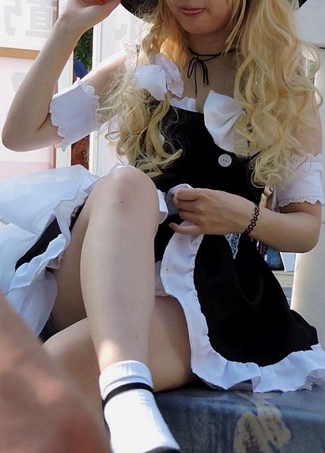 コスプレ2016夏スカートの中が見えそうで見えない【動画】イベント編 2871