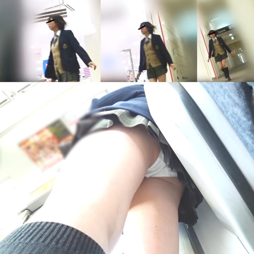 【制服JK】さかさんぽ 無料サンプル【パンモザ無】