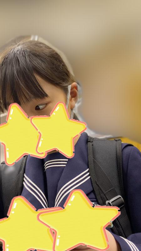 【セーラー服ちびっ子美少女JK!】見つめていたい!