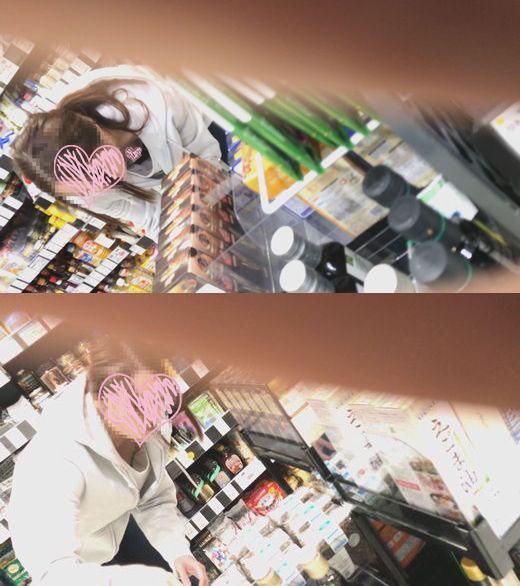 【柔乳チラ】vol.41 スーパーでぷるんぷるんおっぱいを揺らすモデル系美人お姉さん 【胸チラ・浮きブラ】