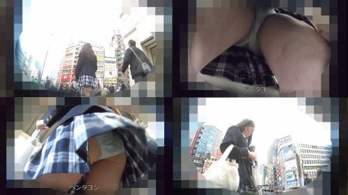 【PTG_4】制服逆さ撮り