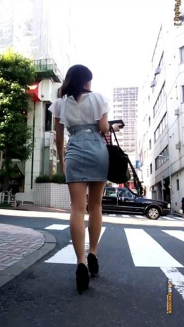 めちゃ良い女!!最高にエロい感じの女ストーキング^^