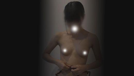 【フルHD】検診車生着替え隠し撮り・禁断の黒髪眼鏡30【高画質】