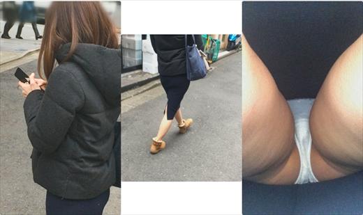 ●大田区 周辺区域・教師(28~35歳)、身長 推定160cm前後、歩行速度 (中)・生足、白パンティ