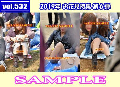 vol.532:2019年 お花見特集 第6弾 サンプル