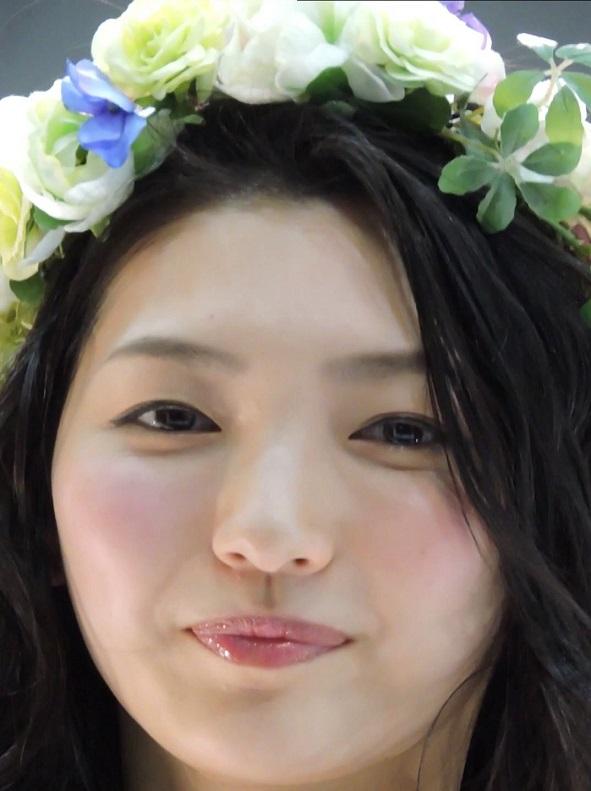 顔を撮り続けてたらチラチラこっちを見るコンパニオンwCP+2016【動画】イベント編 1505