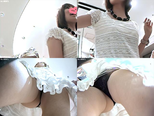 168 店員さんのスカートの中をいっぱい見る動画