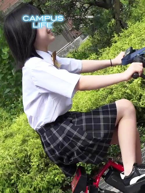 1年C組ゆらちゃん!自転車デートでゆ〜らゆら!