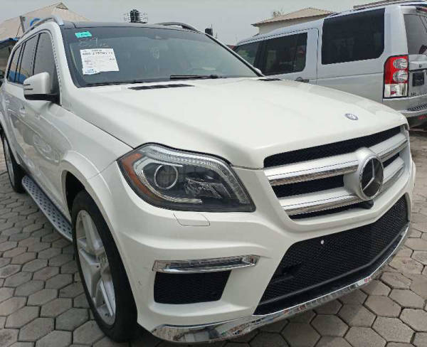 2014 Mercedes-Benz GL 550