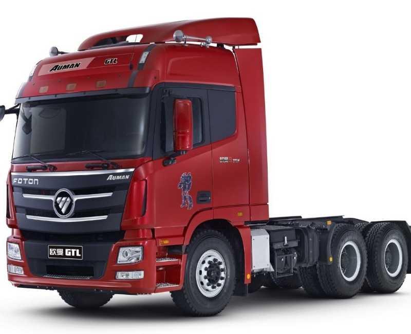 2021 Foton Auman BJ1253 Rigid Cab & Chassis - 15~20 Tons
