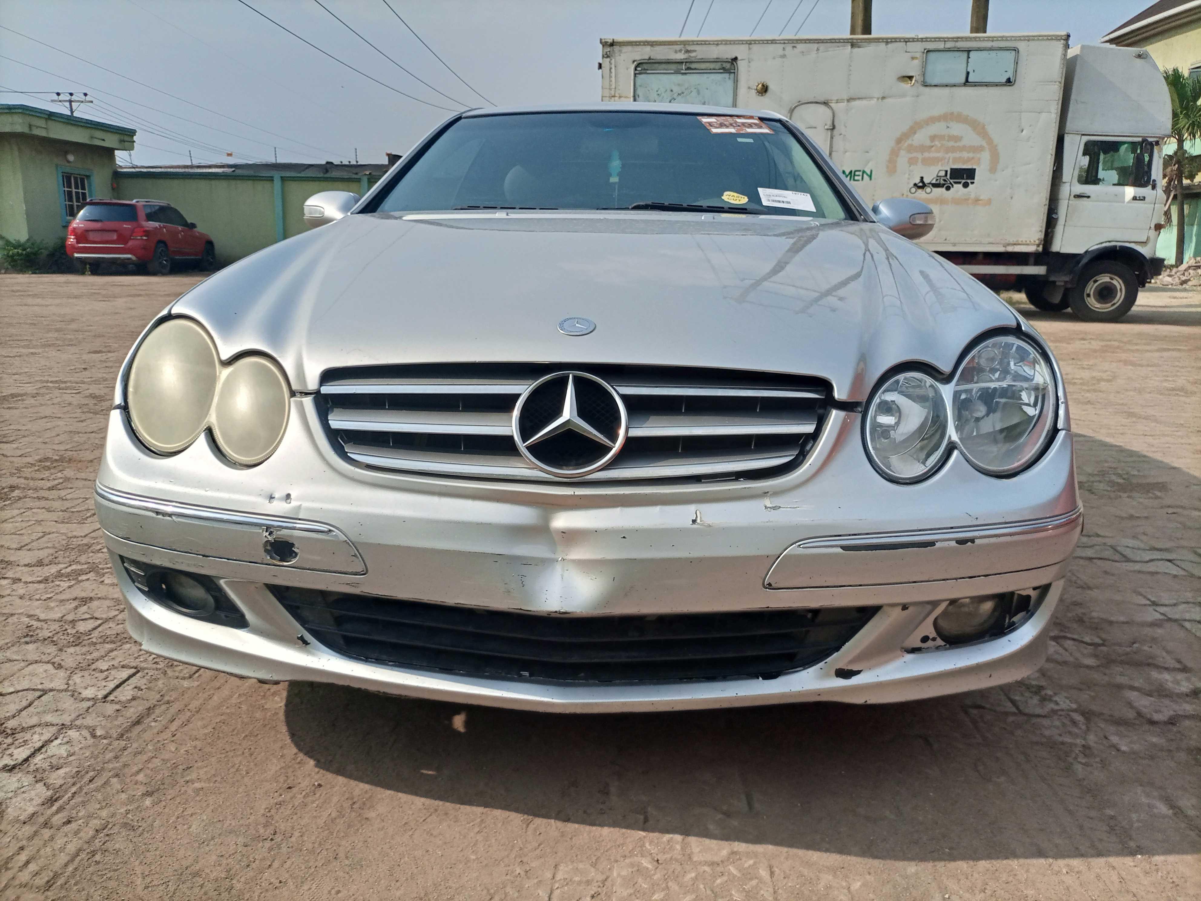 2004 Mercedes-Benz CLK 320