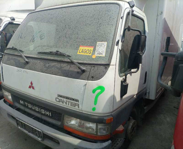 2004 Mitsubishi CANTER CONTAINER BODY