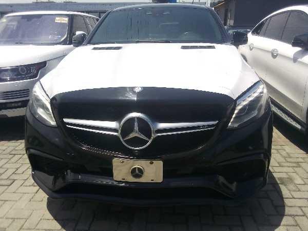 2015 Mercedes-Benz GLE 63 AMG