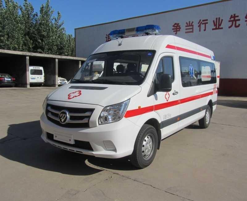 2021 Foton View CS2 2.7L Petrol Ambulance