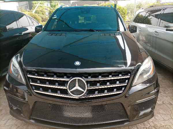 2013 Mercedes-Benz ML 63 AMG