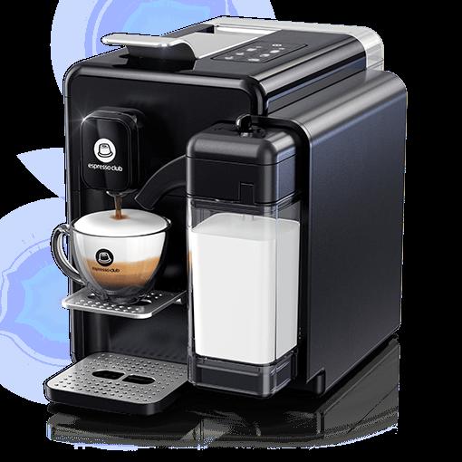 מכונת קפה OneTouch - שחור מלא