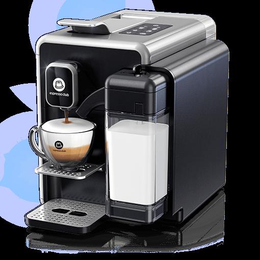 מכונת קפה OneTouch כסוף שחור