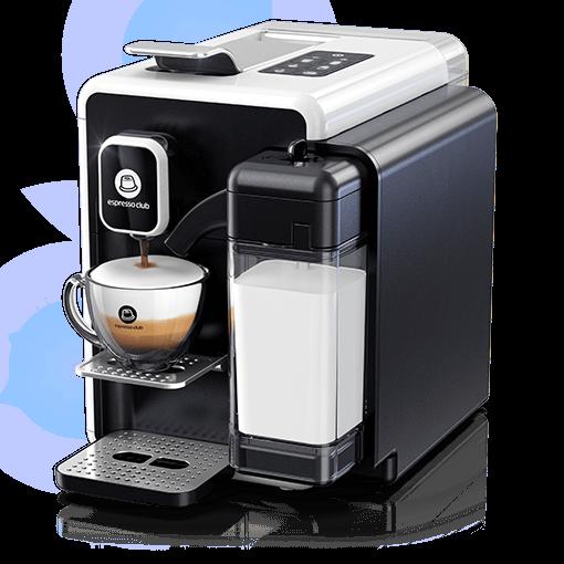 מכונת קפה OneTouch לבן שחור